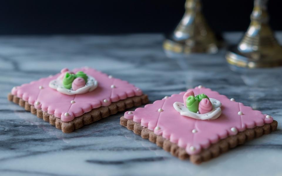 Pearled cookies 2