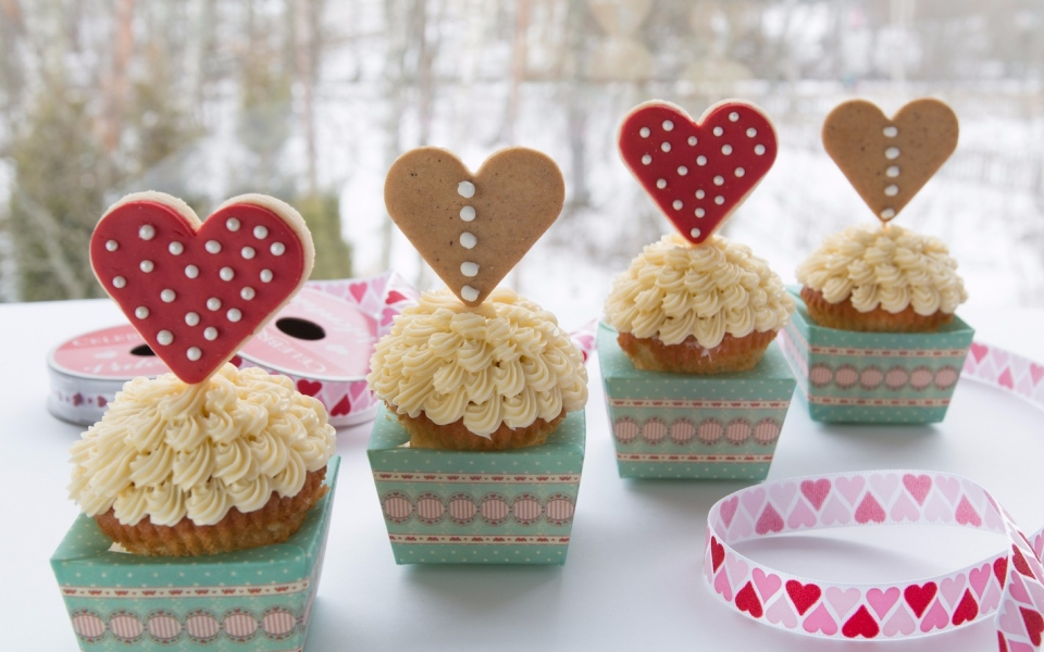 Valentines cupcakes 2